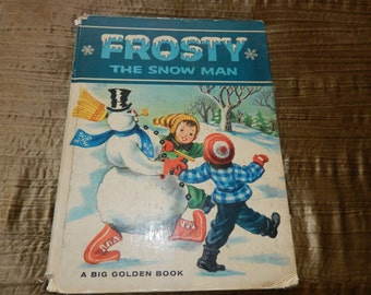 FROSTY the SNOW MAN Vintage Book 1963 Edition