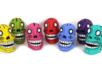 Mexican Sugar Skull - Paper Mache