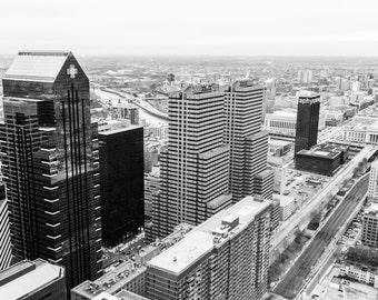 Philadelphia Independence Blue Cross Building Aerial
