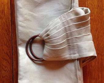 Ring Sling - Linen, Handmade