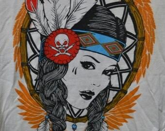 Fatal Indian Girl Design