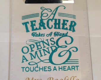 Teacher Apprecaition Clip Board