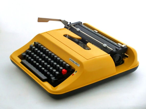 Vintage European Typewriter