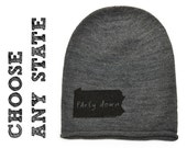State Slouchy Beanie - Choose any state design
