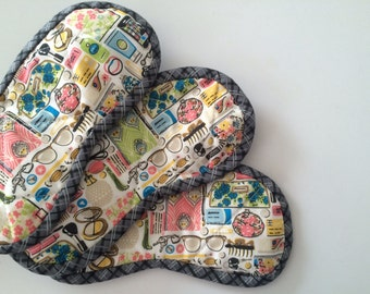 Forget-me-nots Sleep Mask