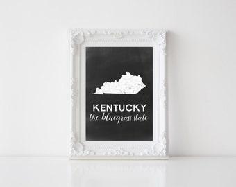 Kentucky Printable 5x7