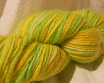 SALE!!  Wooly col: 9205-Lemon/Lime yarn by Mango Moon