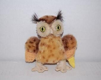 Stieff Mohair Owl