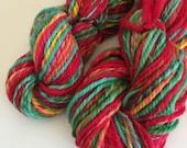 Cheviot n-ply worsted weight handspun yarn