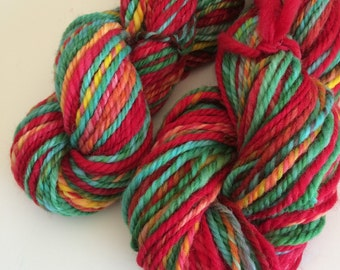 Cheviot n-ply worsted weight handspun yarn