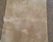 Artisan Hand Dyed Wool Fat Quarter *Latte*