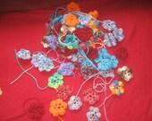 70 Crocheted Flowers