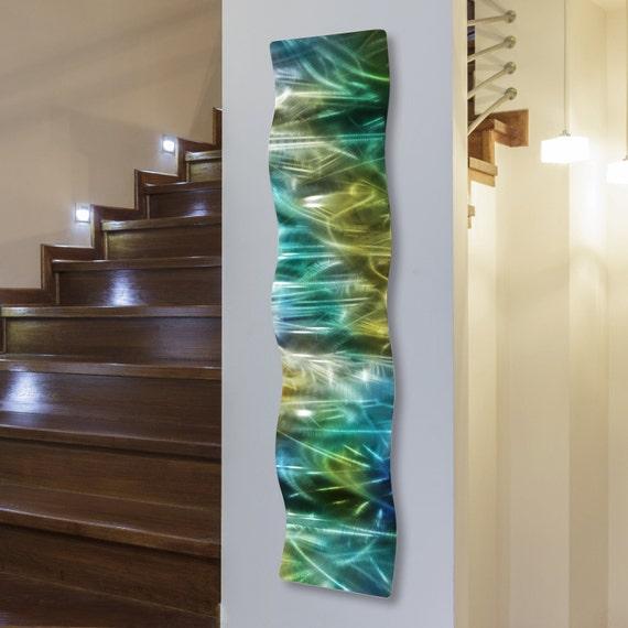 Modern Wall Art Abstract Metal Sculpture Rainforest Wave / by Jon Allen