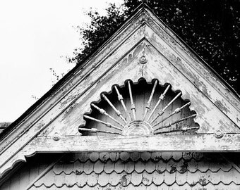black and white rustic home decor, architecture photography, farm decor, abandoned house, weathered, gable photography