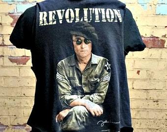 Revolution  Vest . Unisex . One Size . up to Women's XL . Men's Medium . Junior XL . Guitar . Music . Recycled Clothing