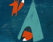 Mr. Fox's Brilliant New Ideas - Signed Art Print
