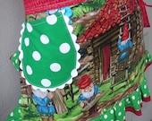 Aprons - Gnome  Aprons - Handy Gnomes Aprons - Handmade Aprons with Pockets - Handy Gnomes Apron - Handmade Apron - Annies Attic Aprons