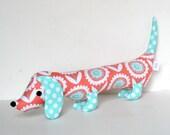 Wiener Dog Softie for Kids Plush Toy Dachshund Baby Toy Stuffed Animal ELEANOR