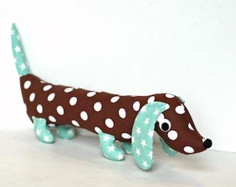Softie for Kids Plush Wiener Dog Stuffed Toy Dachshund Baby Toy Stuffed Animal COCO