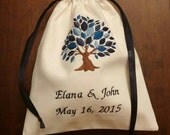 For SETH only: Mazel Tov Groom's Glass Bag