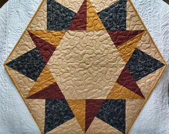 Large Hex Star Quilt
