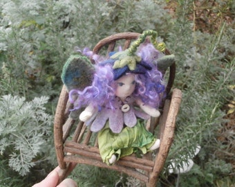 Medieval Fairy  Custom Mini -Waldorf Doll
