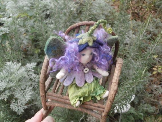 Medieval Fairy  Custom Mini -Waldorf Doll