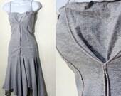 Grey Dropwaist Dress - XS