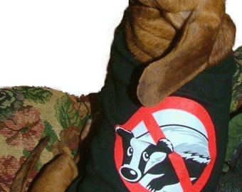 Dachshund Badger Buster Tank Style T-Shirt