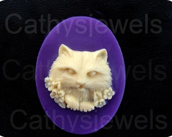 Kitty Cat Vignette Cameo
