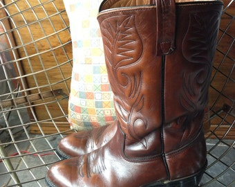 """Red Wing Cowboy Boots """"Pecos"""" US Men's size 8.5 Goodyear Sole"""