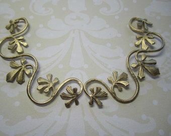 Brass Vines Minimalist Supplies Jewel Wrap on Etsy x 2