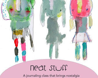 Neat Stuff online journaling workshop by Mindy Lacefield