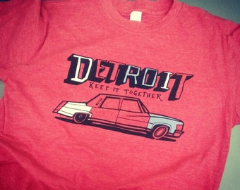 Detroit -Keep it together tee