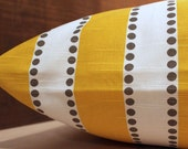 Add Personalization - DESIGNER Pet Bed Duvet Cover - Stuff with Pillows - YOU Choose Fabric - Lulu Corn Yellow/Kelp shown
