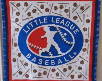 Little League Baseball Pillow  #4064