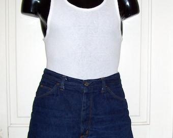 Jean Shorts Mens Daisy Dukes Short Shorts Kings Road Frayed Vintage Summer Love Vtg Denim High Rise Adult Man Jeans 36 x 1