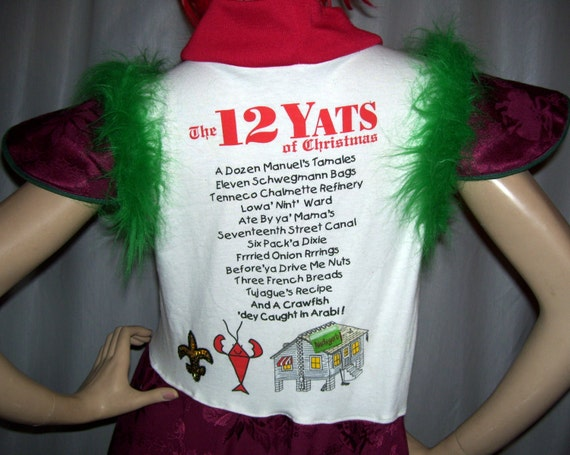12 Yats Christmas Dress Ugly Sweater Party Dress Fur Furry Hi