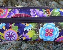 E-cigarette travel case, long ecig carry case, Indonesian Garden, The wide Vaper