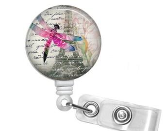 DRAGONFLY Retractable Badge Reel