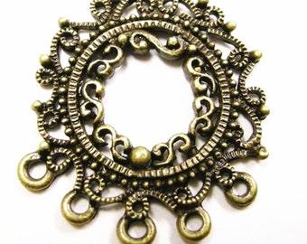 4pc antique bronze Chandelier Component/connector-2368A