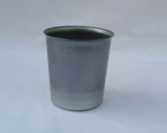 10 Round Votive Candle Mold NEW Seamless Metal Candles