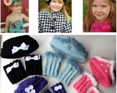 Easy Crochet Hat Pattern Crochet Boot Cuff Pattern Childrens Sizes Pillbox Hat KrissysWonders  Buy 2 Get 1 Free Crochet Pattern No. 75