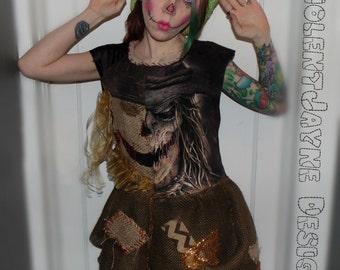 scarecrow dress  #1