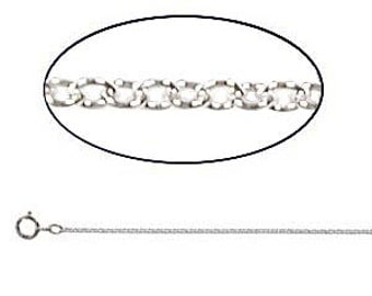 INVENTORY SALE: Necklace 18-Inch Sterling Silver Cable Chain 1.5 MM (.91GM) - (Select Quantity, more is less)