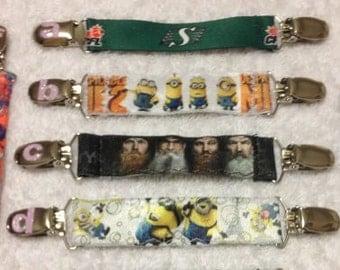 Childrens' Mitten Clips Custom Made
