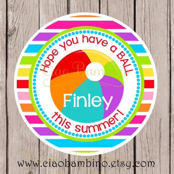 It is an image of Dynamic Have a Ball This Summer Printable