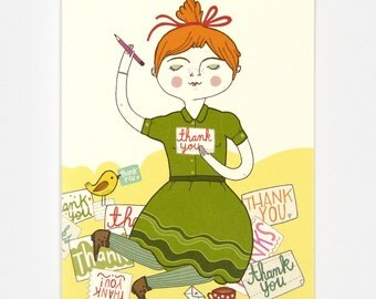 Thank You Notes - Greeting Card