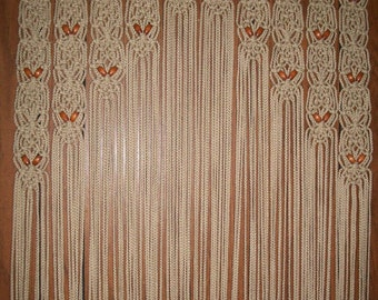 Popular Items For Wood Bead Curtain On Etsy