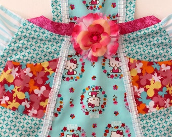 Hello Kitty Spring Baking  Apron